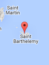 General map of Saint Barthelemy