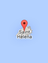 General map of Saint Helena