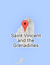 General map of Saint Vincent and the Grenadines