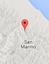 General map of San Marino