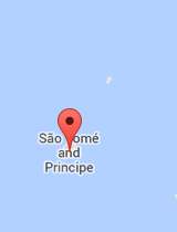 General map of São Tomé and Príncipe