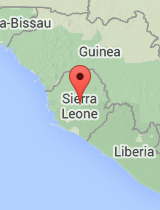 General map of Sierra Leone