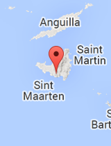 General map of Sint Maarten