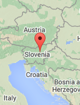 General map of Slovenia