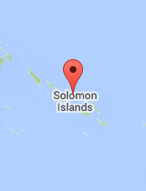 General map of Solomon Islands