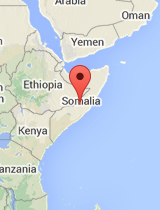 General map of Somalia