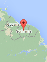 General map of Suriname