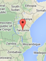 General map of Tanzania