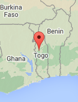General map of Togo