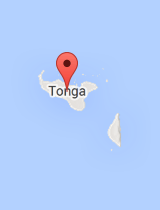 General map of Tonga
