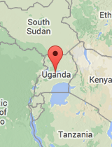 General map of Uganda