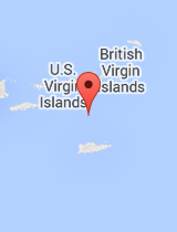 General map of U.S. Virgin Islands