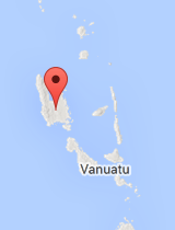 General map of Vanuatu