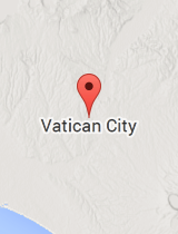 General map of Vatican City