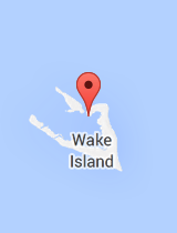 General map of Wake Island